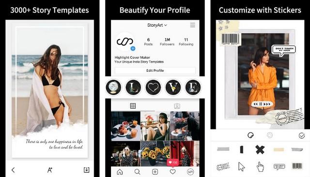 StoryArt - Best Instagram Story App