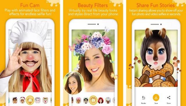 YouCam Fun - Best Face Filter App