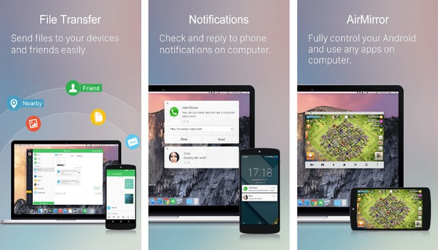 AirDroid - Best File Sharing App