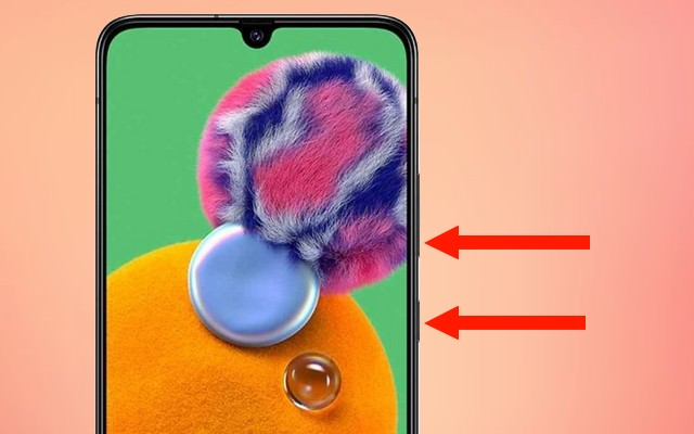 Screenshot on Samsung Galaxy A90
