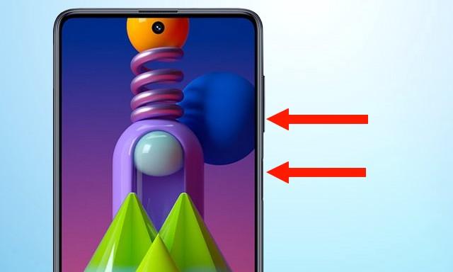 Screenshot on Samsung Galaxy M51