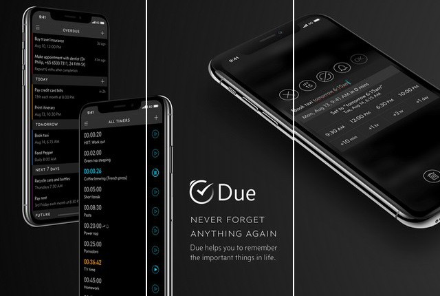 Due - Best Reminder App