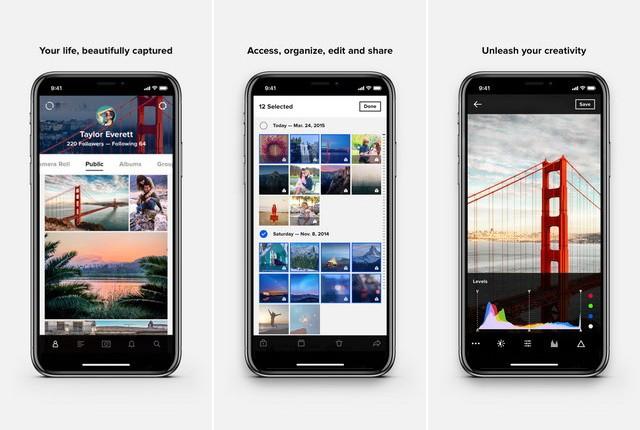 Flickr - Best Photo Organizer App