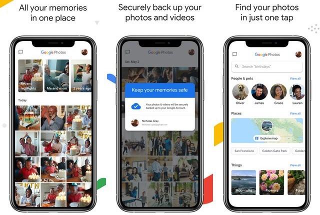 Google Photos - Best Photo Organizer App