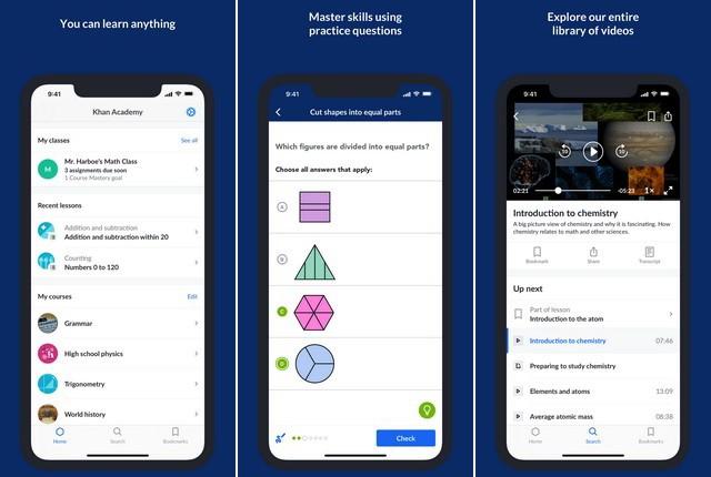 Khan Academy - Best Teacher App