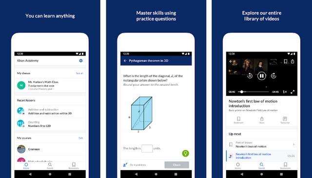 Khan Academy - Best Education App