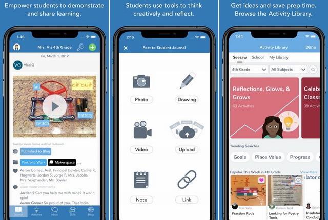 Seesaw Class - Best Teacher App