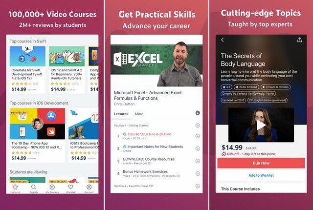 Udemy - Best Educational App