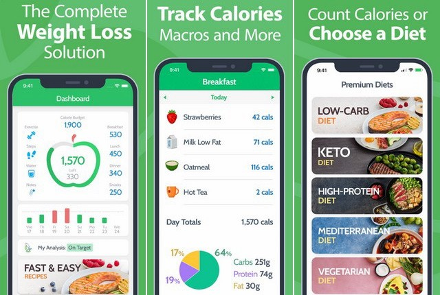 MyNetDiary - Best Diet and Nutrition App