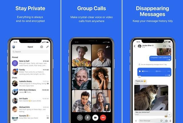 Signal - Best App Like WhatsApp