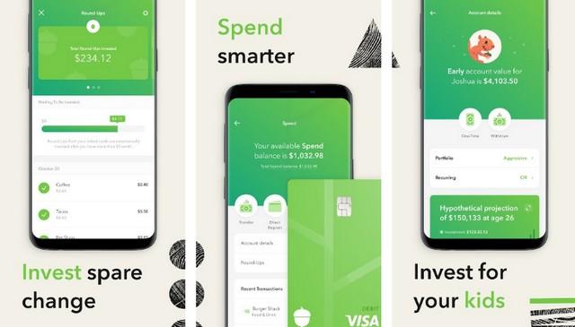 Acorns - Best Investment App