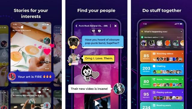 Amino - Best Chat Room App