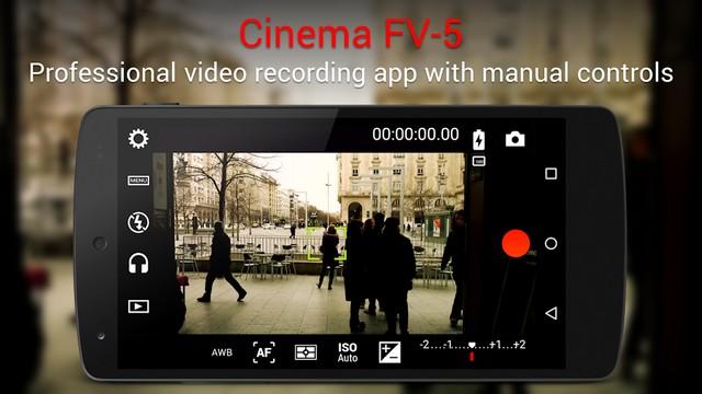 Cinema FV-5 - Best Video Recording App