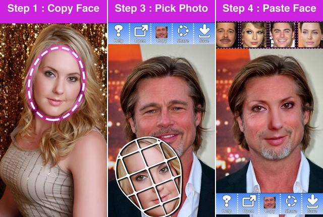 Copy Replace Face Photo Editor