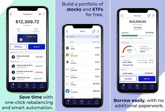 M1 Finance - Investment App for iPhone