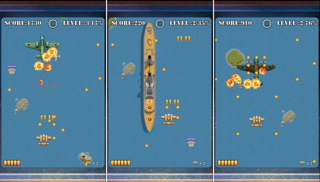 Pacific Wings - Retro Game for iPhone