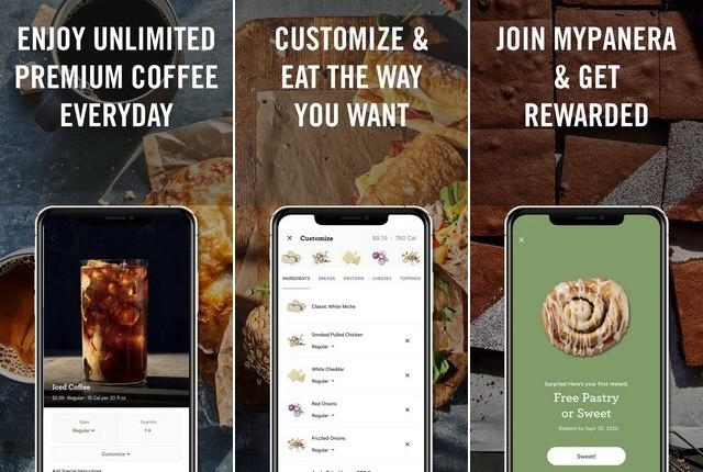 Panera Bread - Fast Food Restaurant App