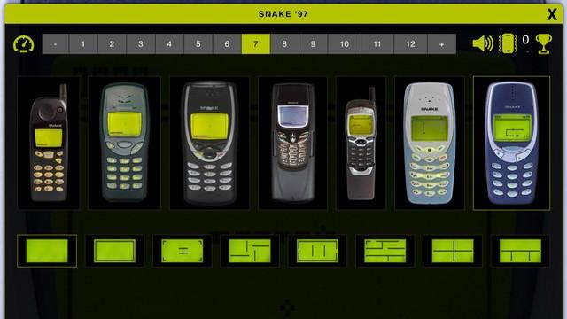 Snake '97' retro phone classic