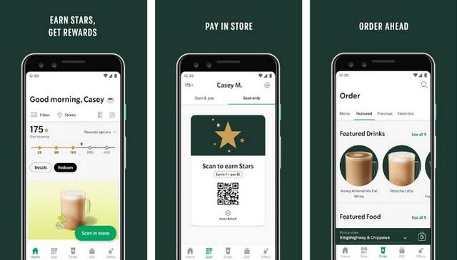 Starbucks - Best Fast Food Restaurant App