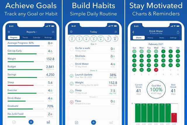 Strides - Best Self-Care App