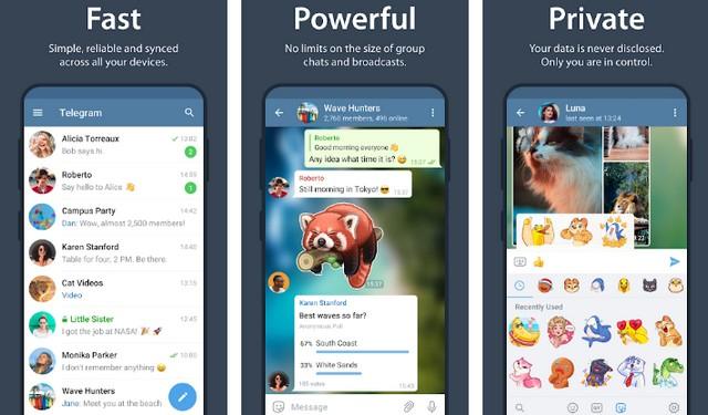 Telegram - Best Chat Room App