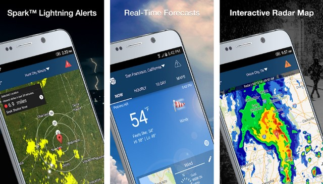 Weather by WeatherBug