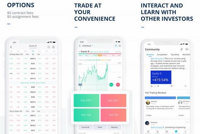 Webull Investing & Trading
