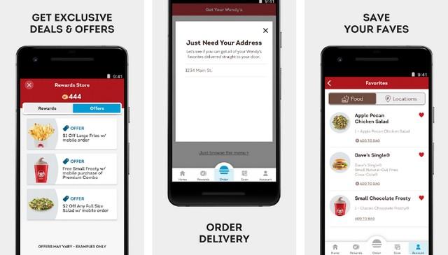 Wendy's - Best Fast Food Restaurant App