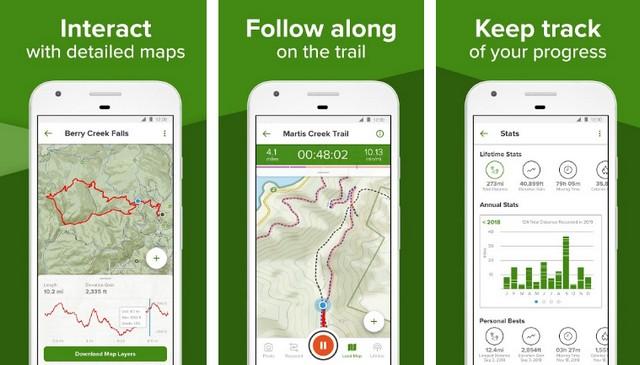 AllTrails - Best Summer App
