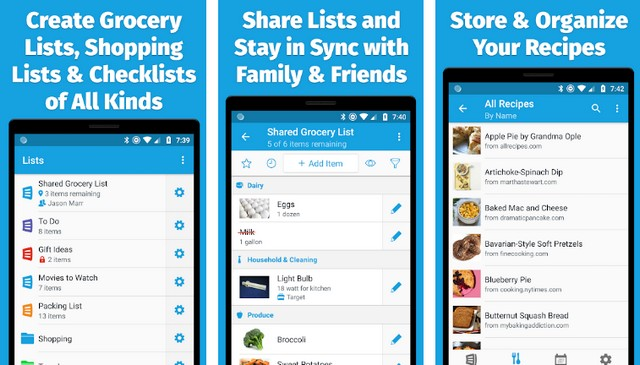 AnyList - Best Grocery List App