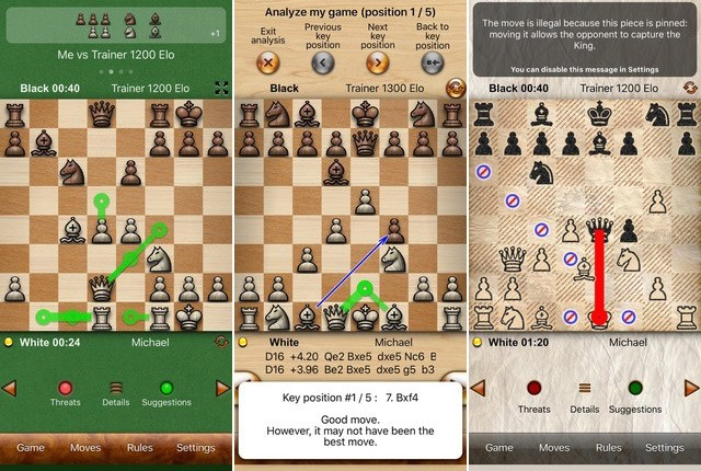 Chess Tiger Pro - Best Game for iPhone