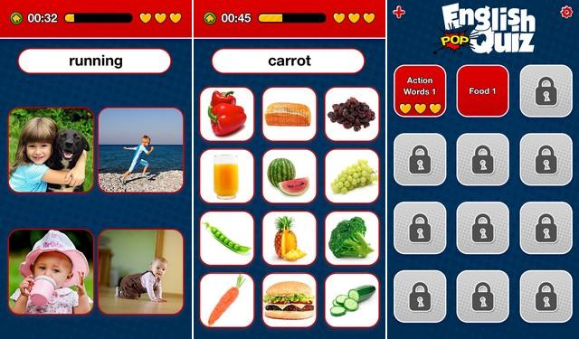 Learn English Vocabulary Pop Quiz
