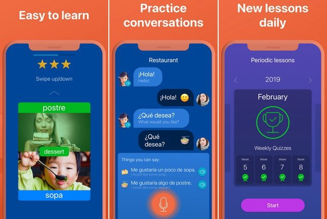 Mondly - English Learning App for iPhone