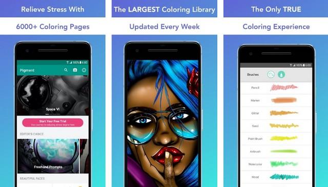 Pigment - Best Adult Coloring Book App