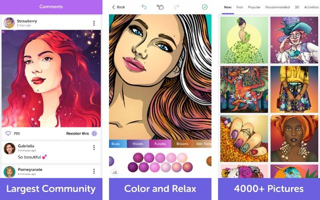Recolor - Best Adult Coloring Book App
