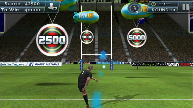 Rugby Kicks 2 - Best Rugby Game for iPhone