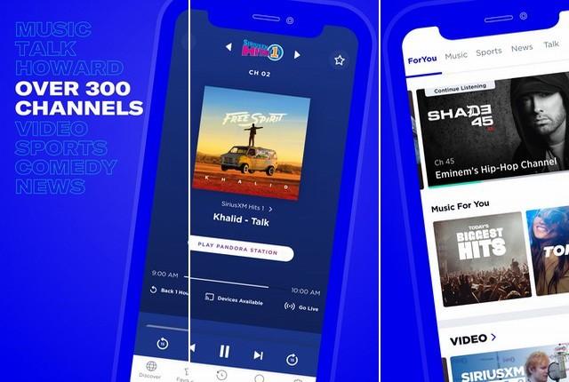 SiriusXM - Best Radio App for iPhone