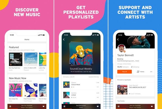 SoundCloud - Alternative to Google Play Music