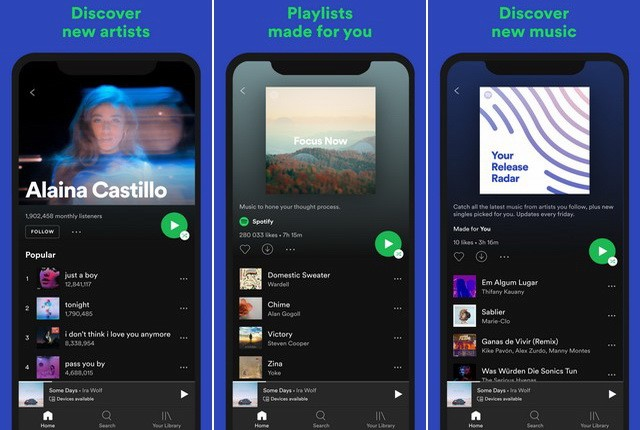 Spotify - Alternative to Google Play Music