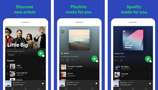Spotify - Best Google Play Music Alternative