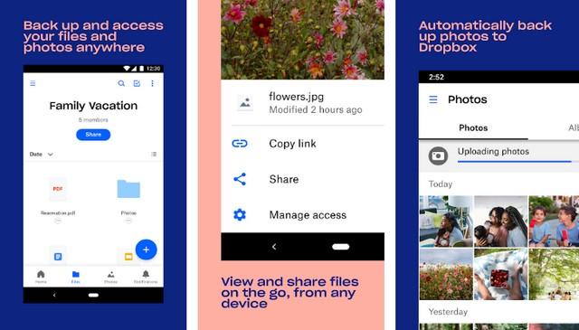 Dropbox - Best Google Photos Alternative