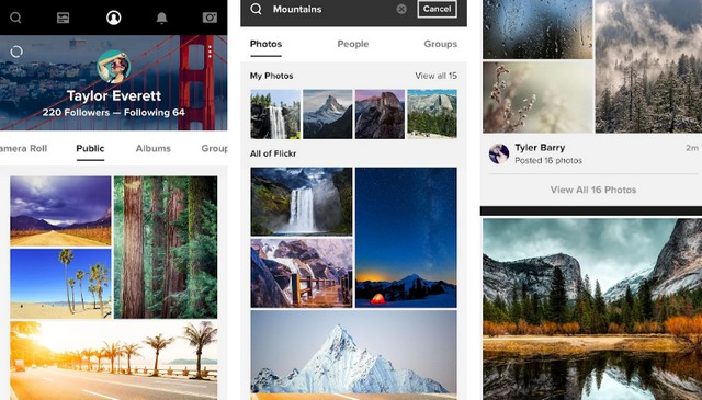 Flickr - Best Google Photos Alternative