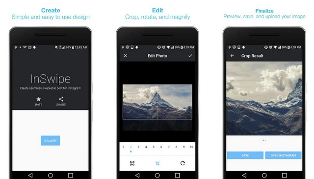 InSwipe - Best Panoramic Camera App