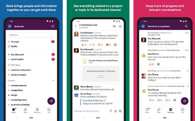 Slack - Best Event Planning App