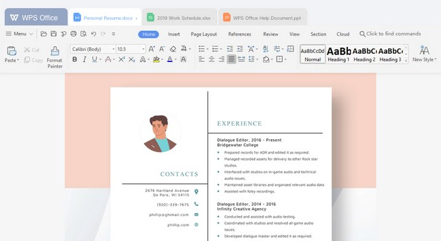 WPS Office - Microsoft Office Alternative