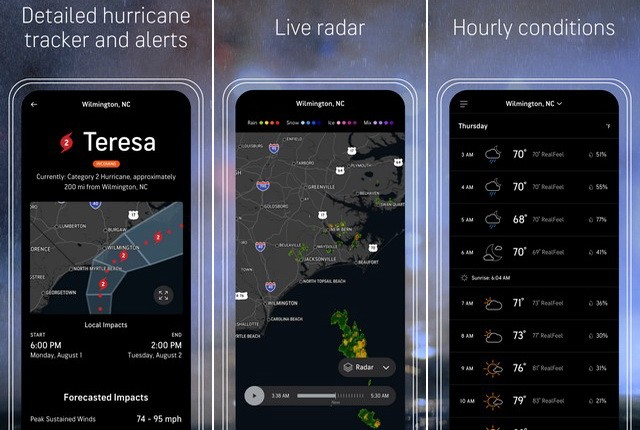 AccuWeather - Summer App for iPhone