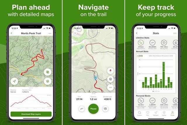 AllTrails - Summer App for iPhone