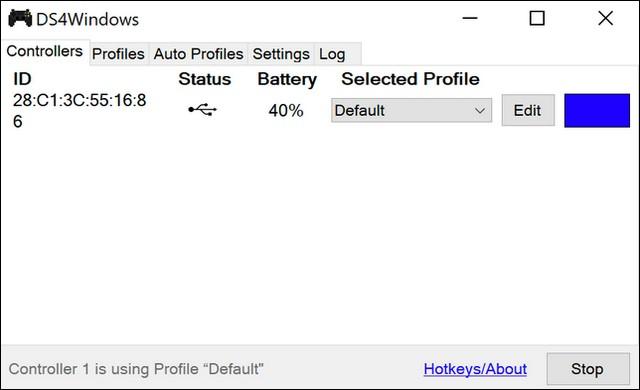 DS4Windows Software