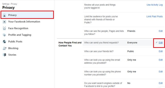 How to Limit People on Facebook