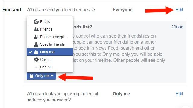 Make your Facebook More Private